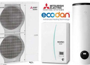 Dizalice topline mogu se koristiti za grijanje ili hlađenje a postoje i uređaji koji imaju obje opcije. Dizalica topline se može povezati na podno grijanje, ventilokonvektore ili niskotemperaturne radijatore!